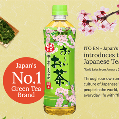 ITO-EN  oi- Ocha  INTERNATIONAL MICRO SITE