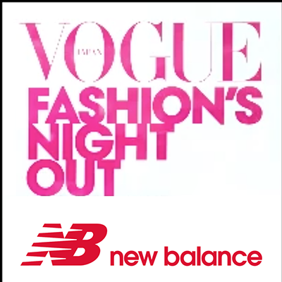 NewBalance VOGUE FASHION`S NIGHT OUT