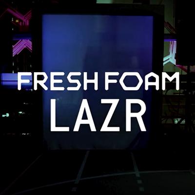 NewBalance LAZR  show case