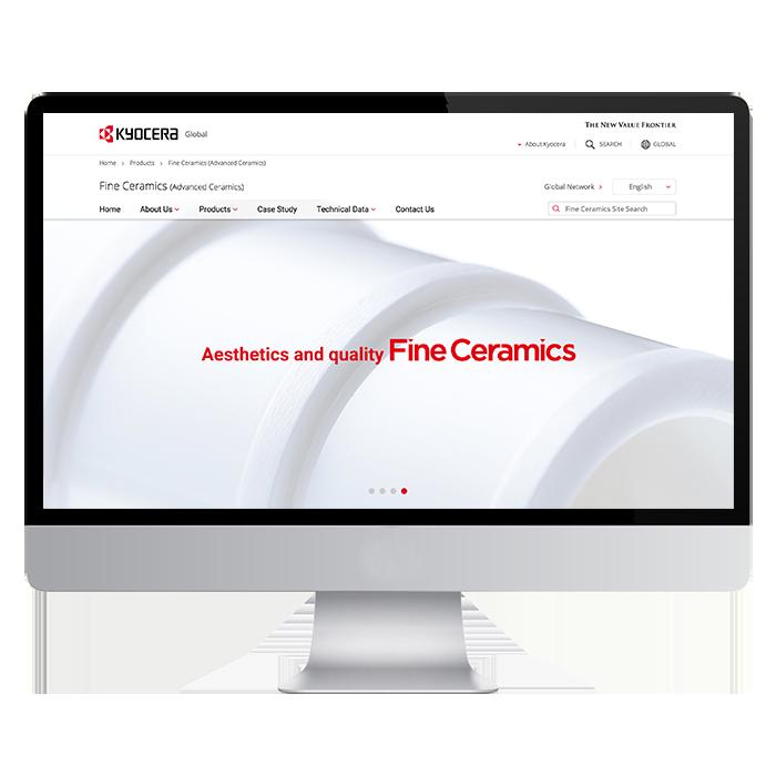 KYOCERA global / Fine Ceramics2