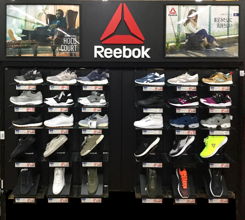 Reebok - Xebio Sports -    Shelf design5