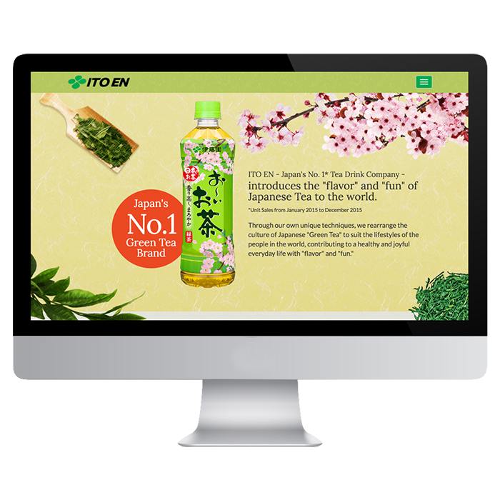 ITO-EN  oi- Ocha  INTERNATIONAL MICRO SITE1