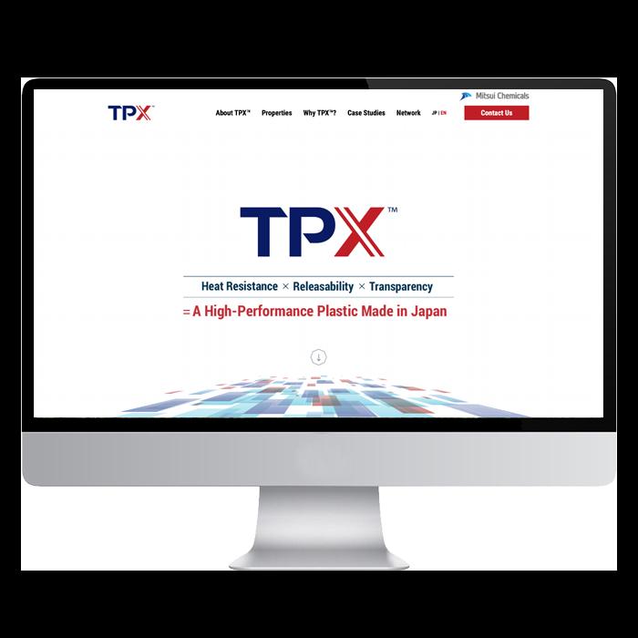 三井化学株式会社  TPX2
