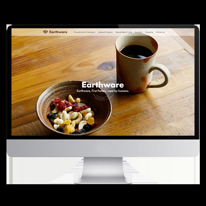 BIEN  - Earthware- 備前焼・海外向けサイト1