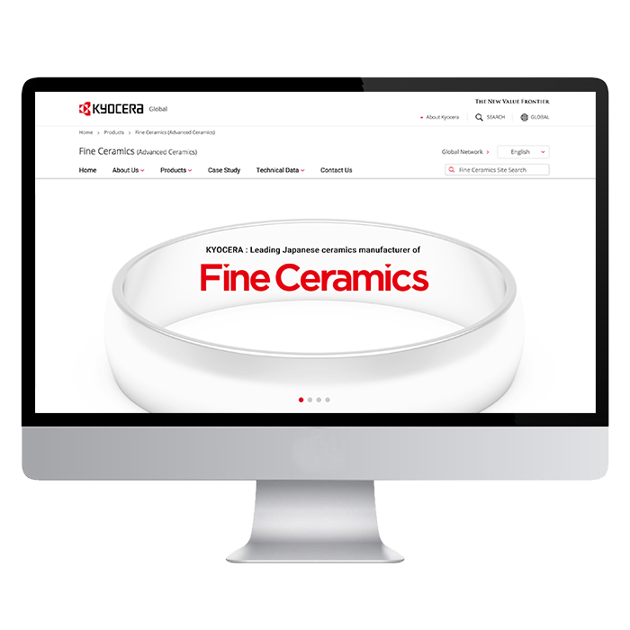 KYOCERA global / Fine Ceramics1