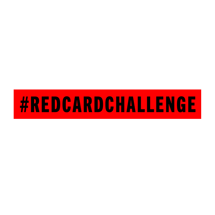 RED CARD #REDCARDCHALLENGE