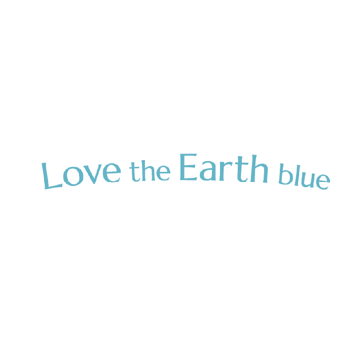 Love the Earth blue1